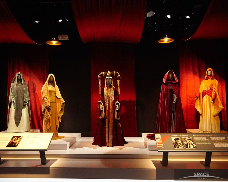 star wars exhibit costumes
