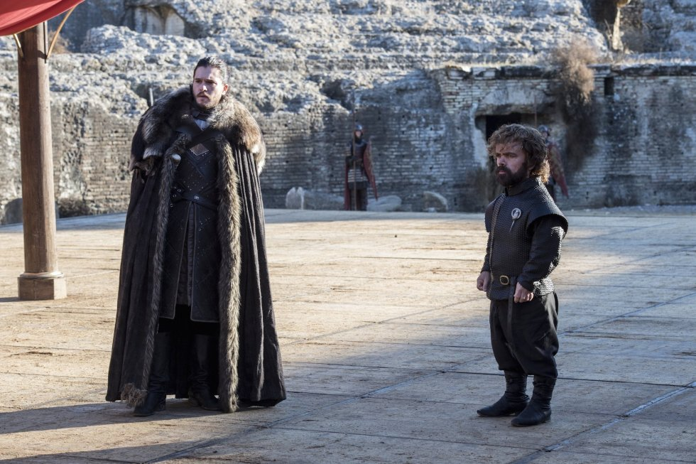 tyrion jon snow game of thrones season seven finale macall b polay